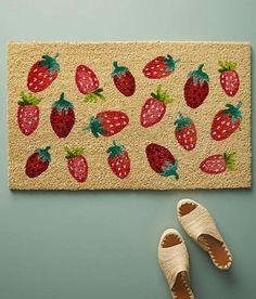 Strawberry house mat