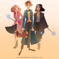 Fantastic Beasts and Where to Find Them ✨ by Brandan Ray Leathead