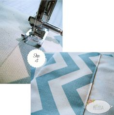 Amazingly easy DIY Sew Lined Panel Drape tutorial by Melissa Lewis.
