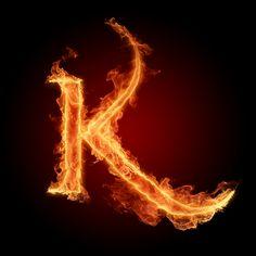 The Alphabet Photo: The letter K