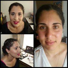 Maquillaje social para la graduación de Eva acompañado de un moño bajo elegante. Tan guapa como siempre, gracias por confiar en mi. #MaquillajeSocial #MaquilladoraProfesional #CristinaGamezMakeUp