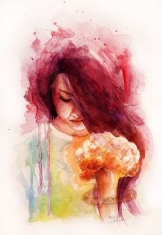 Watercolour on paper / 29,7 x 42 / Artist Ame Soler