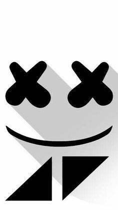 marshmello and avicii Avicii, Screen Wallpaper, Iphone Wallpaper, Marshmello Face, Jeff Flake, Electro Music, Edm Music, Alan Walker, Easy Drawings