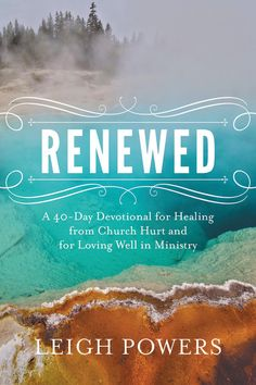 Written by a gifted Pastor's Wife for Pastors' Wives #RenewedDevo