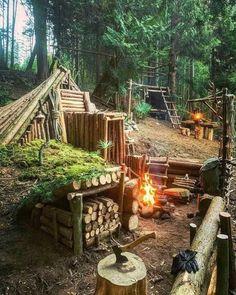Bushcraft Camping, Bushcraft Skills, Camping Survival, Outdoor Survival, Camping Hacks, Outdoor Camping, Survival Life Hacks, Survival Tools, Survival Prepping