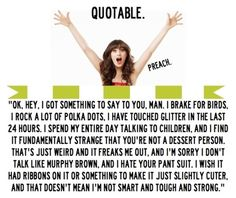 new girl quotes