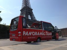 Paris Bus Panoramic Tour at the Foot of the #Eiffel #Tower #Paris #France #CityTour #Panoramic #Tour #ParisTrip #Trip #Sightseeing #tours #visit #visite #travel #voyage #tourism #tourisme #bus #Commentary #Live #English #Discovery #Decouverte #OpenTop #Convertible #Glassroof Glass Roof, Paris Travel, Paris France, Discovery, Convertible, Tourism, Tower, English, Live
