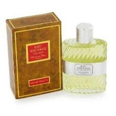 Eau Sauvage by Christian Dior For Men EDT 3.4 Oz