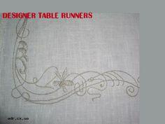 designer table runners
