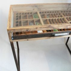 Printers Tray Dressing Table
