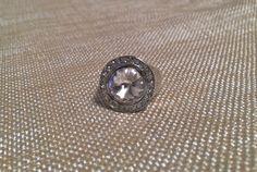 Crystal Clear Swarovski Ring size 7.5 by EmpyreanByDamaris on Etsy, $32.00