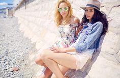 Bohoo France Caroline et Safia