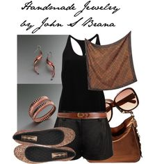 Handmade Jewelry by John S Brana by linseygreen on Polyvore