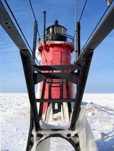 South Haven South Pier Lighthouse - South Haven, MI