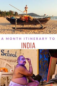 One Month India Travel Itinerary