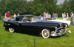 1953 Pontiac Parisienne concept car.....looks more like town car of the 30's.