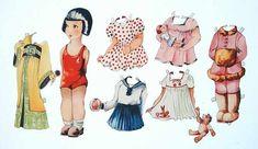 German paper doll from the twenties