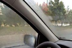 ΦΟΒΕΡΟ: Το ιδανικό κόλπο για να μην θολώνουν τα τζάμια του αυτοκινήτου... (VIDEO)