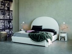 Bjorn Designer Bed #Italian Designer Bed # Cattelan Italia # Modern Bed