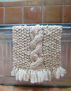 Crochet yourself a bath mat.