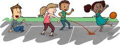 Educação Física Escolar: Vantagens e desvantagens da Queimada como atividade escolar