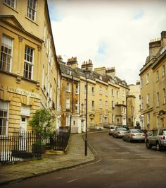 Bath, England, UK: COULD SEE MYSELF LIVING ON THIS STREET