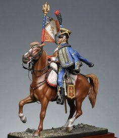 Porta stendardo degli ussari francesi