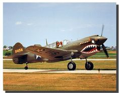 The Curtiss P-40 Warhawk is one of the best-liked airplanes of World War second. P-40 performance was never quite up to that of its opponents. The most important thing about the P-40 to the United States was that it was available in ever-growing quantity to fight a war when no other fighters were. The Curtiss P-40 Warhawk achieved its greatest fame while flying with Claire Chennault's American Volunteer Group in China.