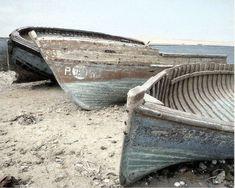 #barcas en la arena