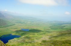 Ausblick vom Connor Pass, Irland Golf Courses, Europe, Beautiful Images, Ireland, Nice Asses