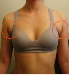 Exercises to Get Rid of that Armpit Bulge - or what we call ANTI-BOOB