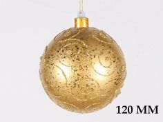 """Christmas at Winterland WL-BALL-120-GO Gold Holiday Balls 4.7 Inch Ball Ornament Gold with Gold Glitter WL-BALL-120-GO. Christmas at Winterland WL-BALL-120-GO 4.7 Inch Ball Ornament Gold with Gold Glitter Jazz up your holidays with this gorgeous 4.7 inch round glittery Gold metallic ball ornament. Shatterproof plastic construction makes this a perfect addition for an environment with small children and animals. Christmas at Winterland WL-BALL-120-GO Features: 4.7"""" Ball Ornament Gold with…"""