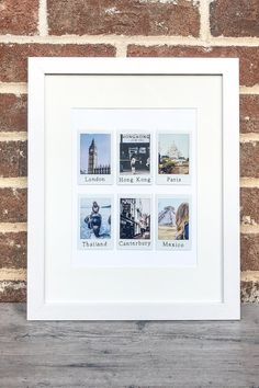 Photo Frame - Ideas That Produce Nice Photos No Matter Your Skills! Polaroid Pictures Display, Polaroid Picture Frame, Polaroid Display, Picture Frame Crafts, Polaroid Wall, Instax Wall, Photo Frame Ideas, Instax Frame, Mini Picture Frames