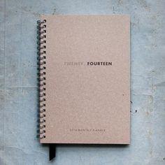 Twenty Fourteen – 2014 Monthly Planner  / onefinedae