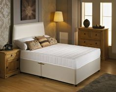 "2ft 6"" Visco Flex Small Single Divan Bed"