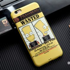 Simpson Silicon Cases for iPhone 6s  $11.99