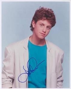Kirk Cameron i believe i had this poster on my wall