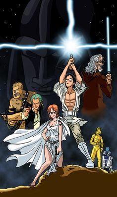 One Piece Wars REDUX by TheSteveYurko