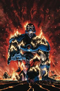 Earth 2 - World's End #10 - Darkseid by Paolo Siqueira *
