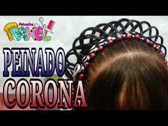 Peinado de Corona para Princesa y Primera Comunión - Princess or First Communion Hairstyle - YouTube