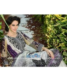 HSY Embroidered Lawn Collection 2015 By Ittehad Buy Online