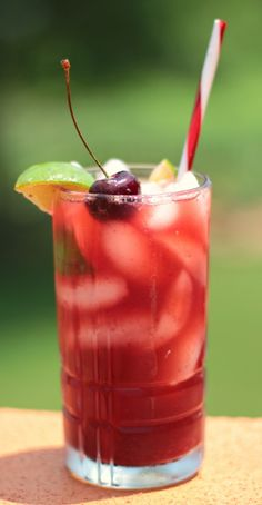Mommy's Cherry Limeade - you won't find this on Sonic's Happy Hour menu!