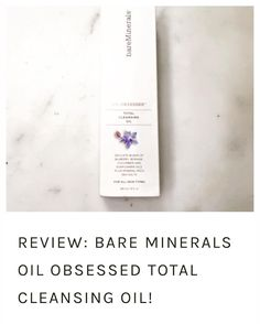 I didn't get a chance to post anything last week but be sure to check out the new @bareminerals cleansing oil review up on #lifeloveflowers! New posts up each week and 2 this week! Link in bio  #bareminerals #oil #cleansingoil #cleansingmilk #healthyskin #softskin #face #life #love #flowers #lblogger #wordpressblog #bblogger #blog #blogger #newblog  #health #beauty #fashion #lifestyle #ad #love