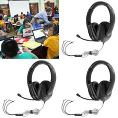 af053b57e35 A TRIED and TRUSTED MULTI-MEDIA HEADSET: #HAMILTONBUHL #Multimedia Headset  with Gooseneck