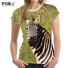 3D Crazy Zebra Print Zebra Print, 3d, T Shirt, Women, Style, Fashion, Moda, Tee Shirt, Fashion Styles