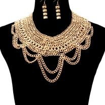 Products · Gold Lux Necklace set · Ashas Jewelrybox's Store Admin