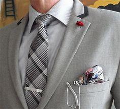 Topman jacket, DKNY tie, Noego frames