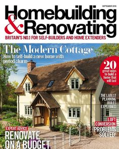 Get 'em while they're hot! ...We're not kidding it's hotter than the sun out there so why not find a bit of shade and plan your next project? Our new issue investigates how to renovate small spaces on a budget looks into all things loft conversions and shares some inspired kitchen storage ideas.  . This month also showcases the best of the best of our featured homes including a modern cottage in Worcestershire an extended 1930s semi in Leeds a unique Passivhaus for a family and a fresh remodelli