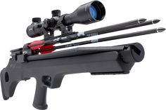 The FX Indy is likely the best survival airgun design built today! It includes a built-in pump and is available in .22, .25 or the powerful .30 caliber.