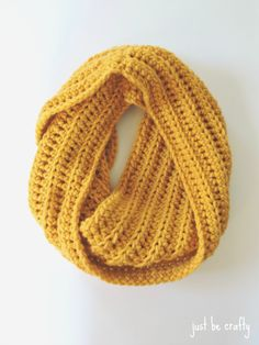 Brittany from Just Be Crafty shares a simple free crochet...